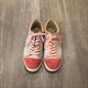 UGG Shoes - UGG Coral Reef Taya Suede Sneakers Size 6.5